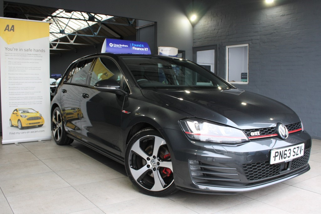 used VW Golf GTI DSG in staffordshire