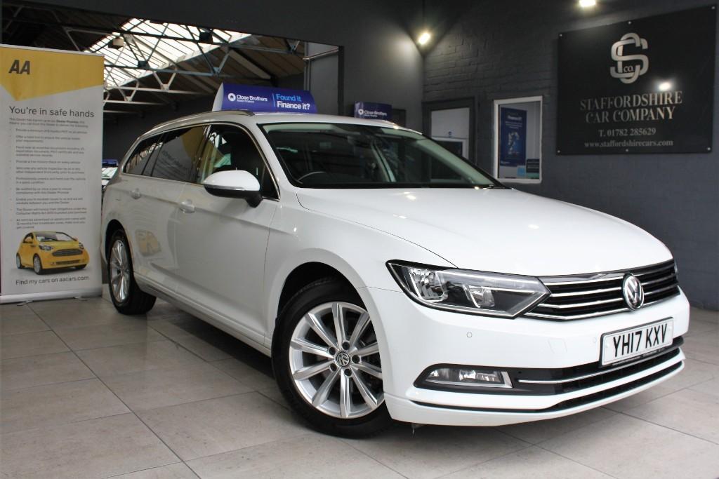 used VW Passat SE BUSINESS TDI BLUEMOTION TECHNOLOGY in staffordshire