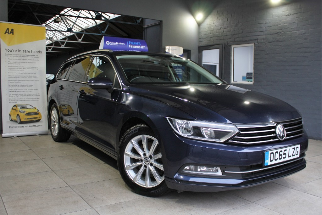 used VW Passat SE BUSINESS TDI BLUEMOTION TECHNOLOGY in staffordshire