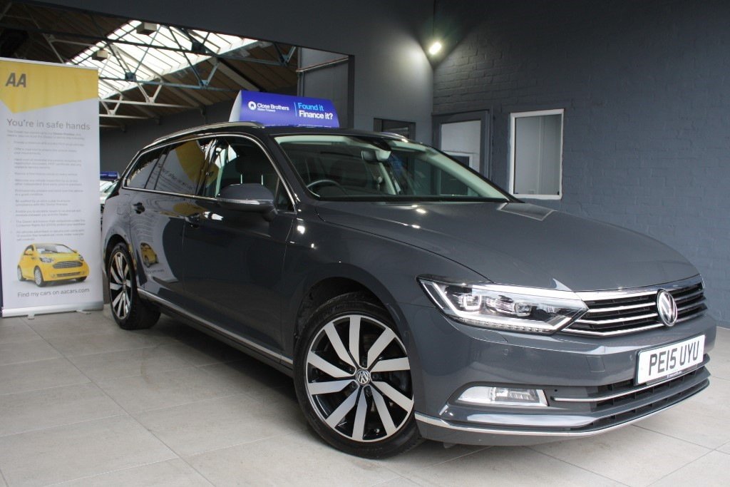 used VW Passat GT TDI BLUEMOTION TECHNOLOGY in staffordshire