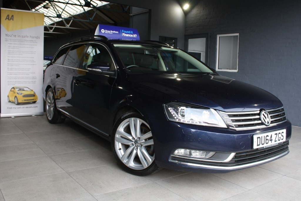 used VW Passat EXECUTIVE STYLE TDI BMT in staffordshire