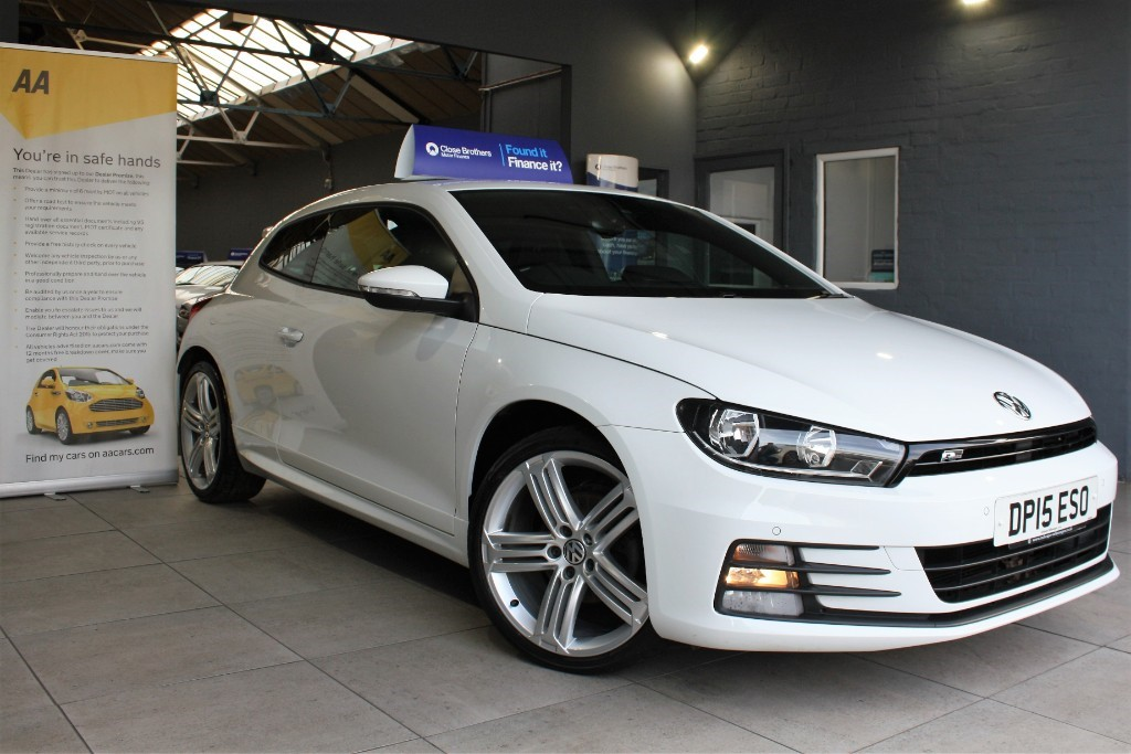 used VW Scirocco R LINE TDI BLUEMOTION TECHNOLOGY in staffordshire