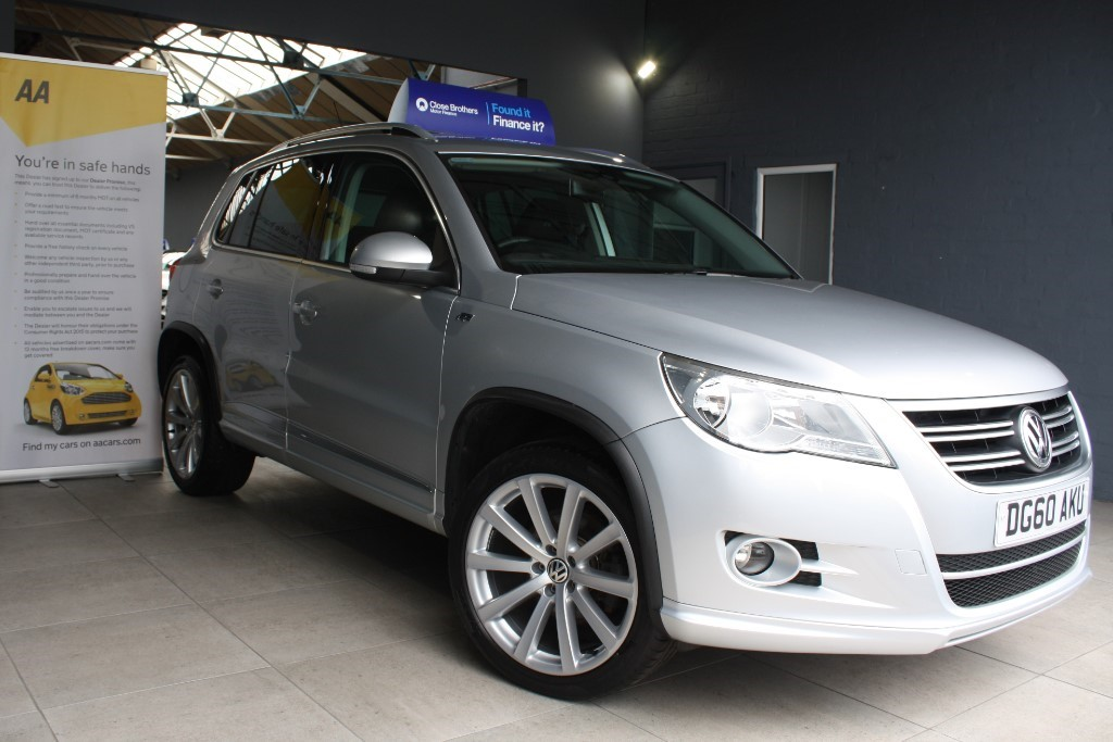 used VW Tiguan R LINE TDI 4MOTION in staffordshire