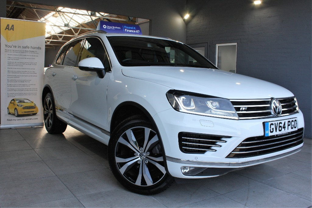 used VW Touareg V6 R-LINE TDI BLUEMOTION TECHNOLOGY in staffordshire