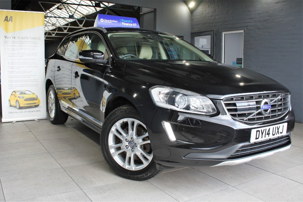 used Volvo XC60 D4 SE LUX NAV AWD in staffordshire