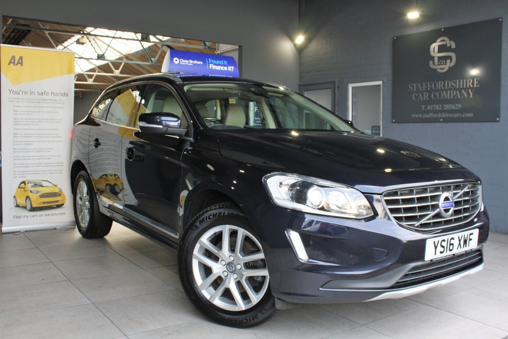 used Volvo XC60 D4 SE LUX NAV in staffordshire