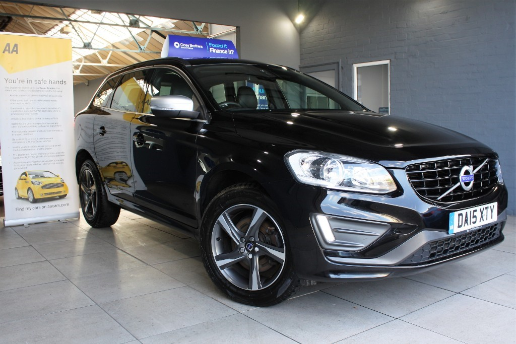 used Volvo XC60 D4 R-DESIGN NAV in staffordshire