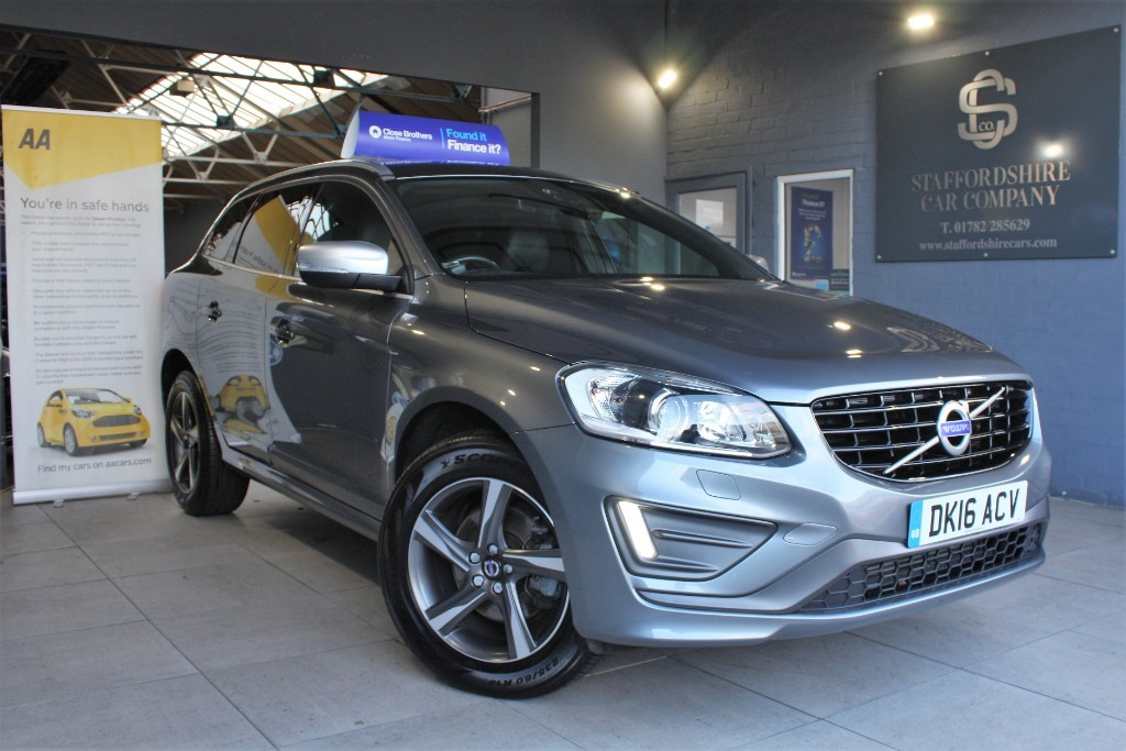 used Volvo XC60 D5 R-DESIGN LUX NAV AWD in staffordshire