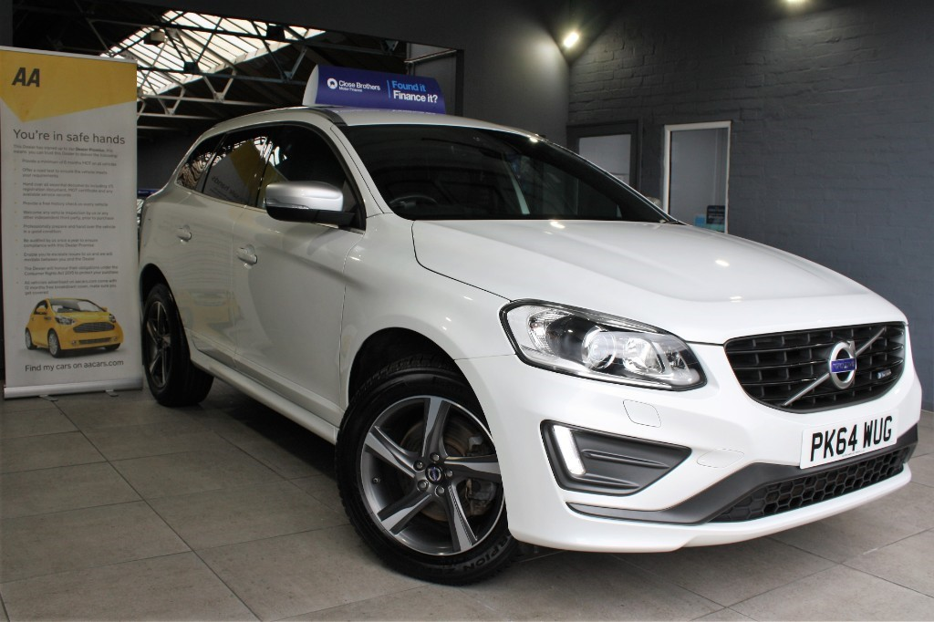 used Volvo XC60 D4 R-DESIGN LUX NAV in staffordshire