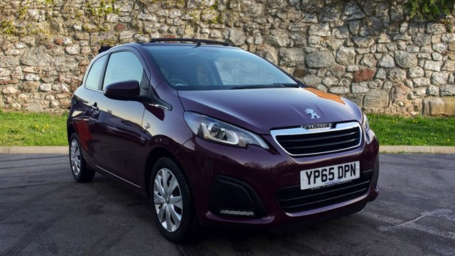 used Peugeot 108 Active TOP! 3dr in chapel-en-le-frith