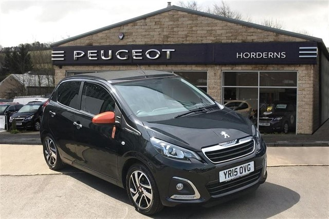 used Peugeot 108 PureTech Roland Garros TOP! in chapel-en-le-frith