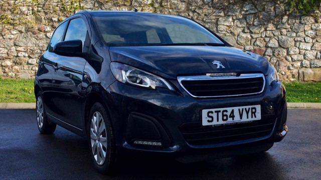 used Peugeot 108 Active 5dr in chapel-en-le-frith
