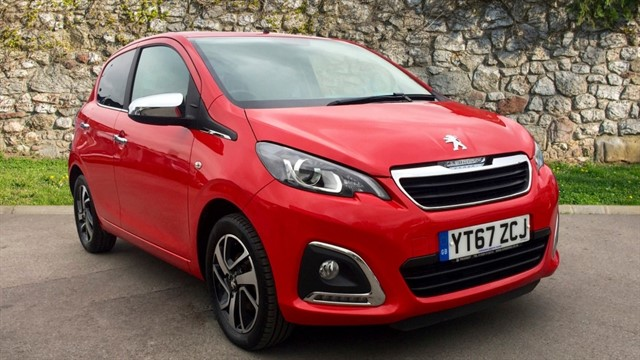 used Peugeot 108 Collection 5dr in chapel-en-le-frith