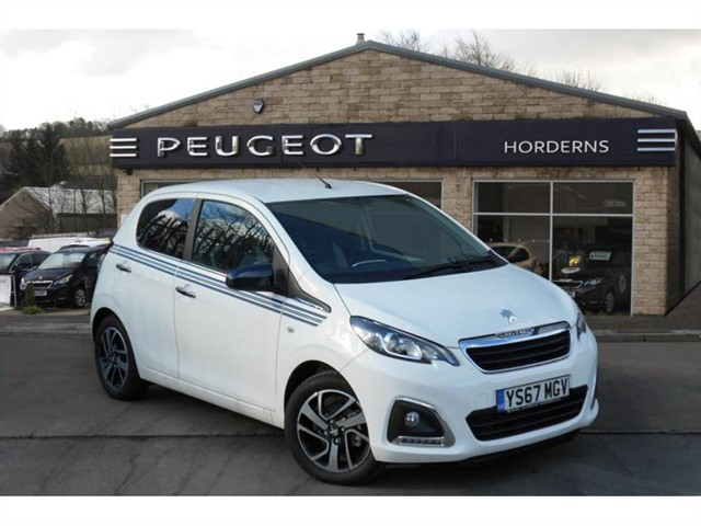 used Peugeot 108 PureTech (82bhp) Collection in chapel-en-le-frith