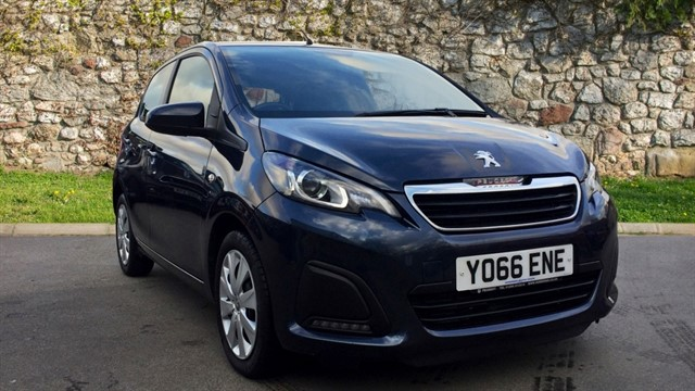 used Peugeot 108 Active 2-Tronic 5dr in chapel-en-le-frith