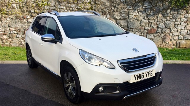used Peugeot 2008 BlueHDi Allure SUV 5dr Manual (97 g/km, 100 bhp) in chapel-en-le-frith