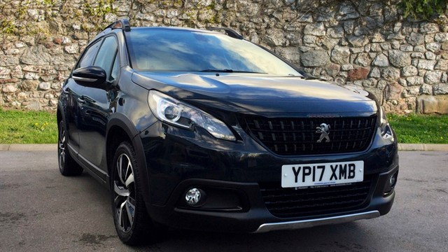 used Peugeot 2008 PureTech GT Line SUV 5dr Manual (s/s) (103 g/km, 110 bhp) in chapel-en-le-frith