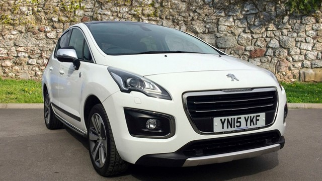 used Peugeot 3008 HDi FAP Crossway 5dr in chapel-en-le-frith