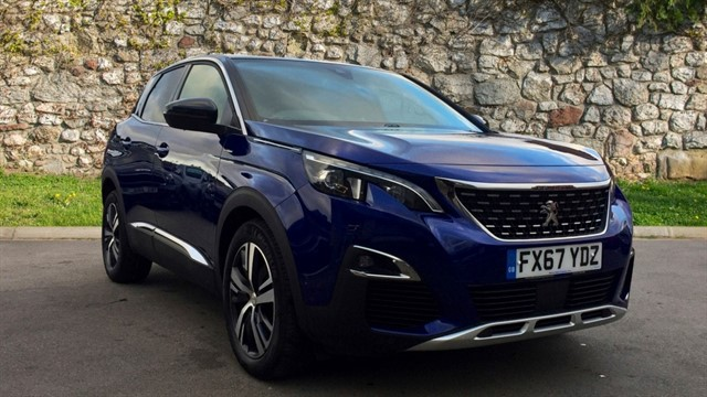 used Peugeot 3008 BlueHDi GT Line (s/s) 5dr in chapel-en-le-frith