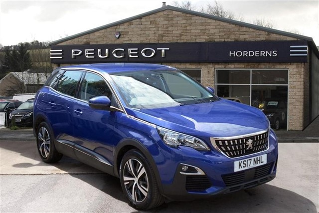 used Peugeot 3008 BlueHDi (120bhp) Active (s/s) in chapel-en-le-frith