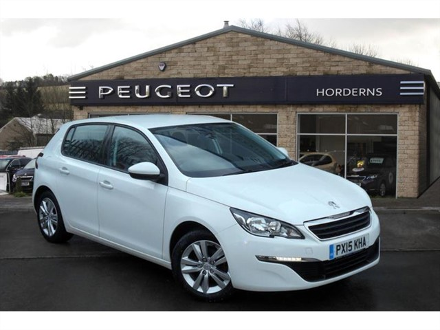 used Peugeot 308 HDi 92 Active in chapel-en-le-frith