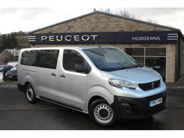 used Peugeot Expert Tepee BlueHDi 115 (EU6) (s/s) Long in chapel-en-le-frith