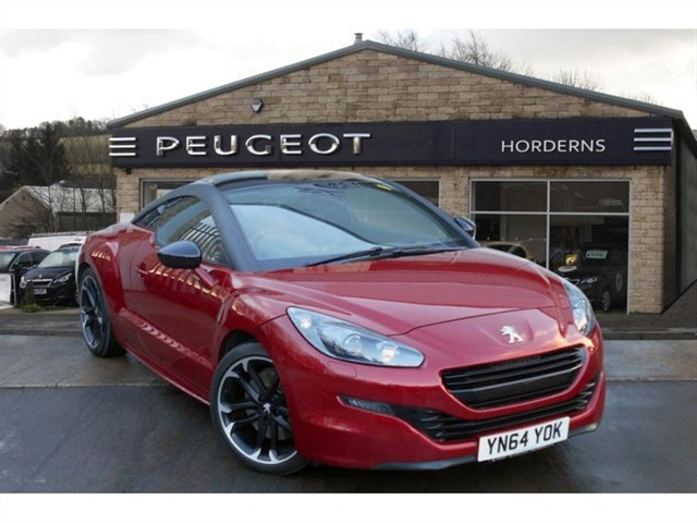 used Peugeot RCZ HDi 163 Red Carbon in chapel-en-le-frith