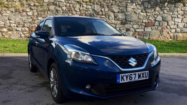 used Suzuki Baleno Boosterjet SZ5 5dr in chapel-en-le-frith