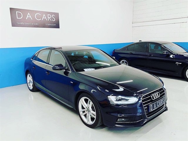 used Audi A4 TDI S LINE in andover-hampshire