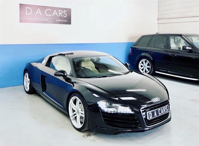used Audi R8 QUATTRO in andover-hampshire