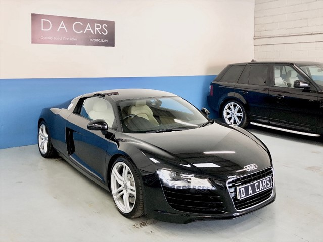 used Audi R8 QUATTRO in andover-hampshire