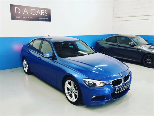 used BMW 330d M SPORT in andover-hampshire