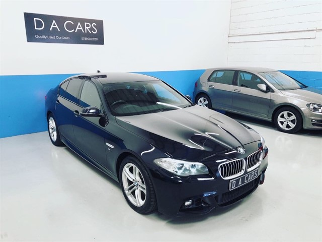 used BMW 520d M SPORT in andover-hampshire