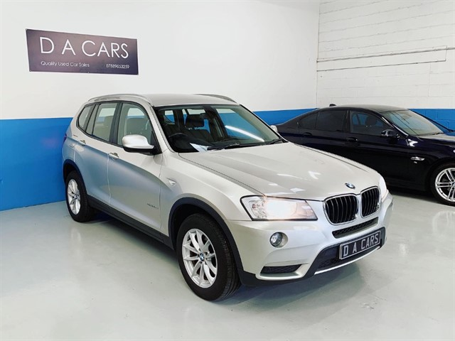 used BMW X3 XDRIVE20D SE in andover-hampshire