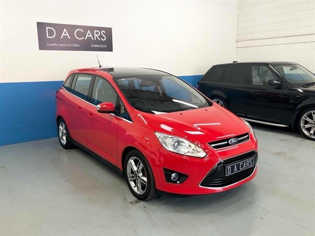 used Ford C-Max GRAND TITANIUM X TDCI in andover-hampshire