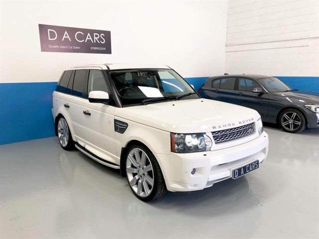 used Land Rover Range Rover Sport TDV8 HSE E4 in andover-hampshire