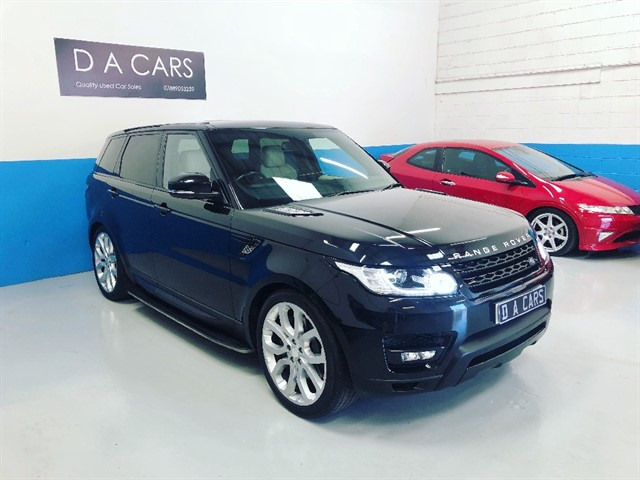 used Land Rover Range Rover Sport SDV6 HSE DYNAMIC in andover-hampshire