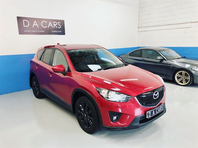 used Mazda CX-5 D SPORT NAV 4WD in andover-hampshire