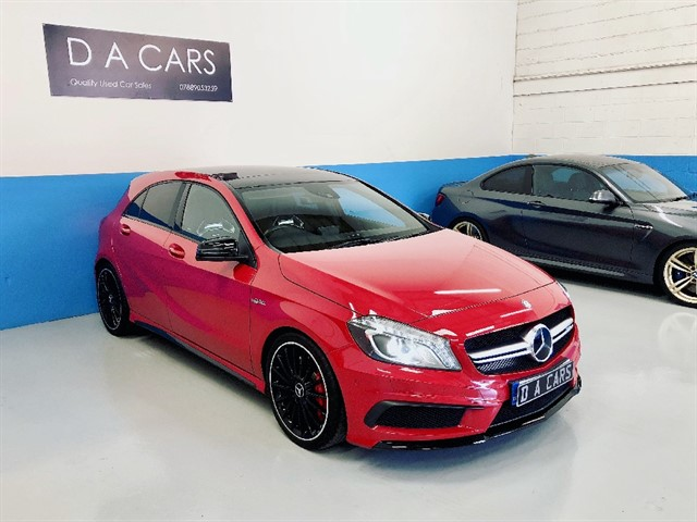 used Mercedes A45 AMG 4MATIC in andover-hampshire