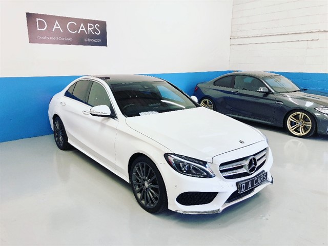 used Mercedes C250 BLUETEC AMG LINE PREMIUM PLUS in andover-hampshire
