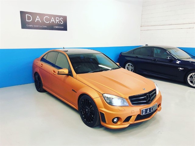 used Mercedes C63 AMG in andover-hampshire