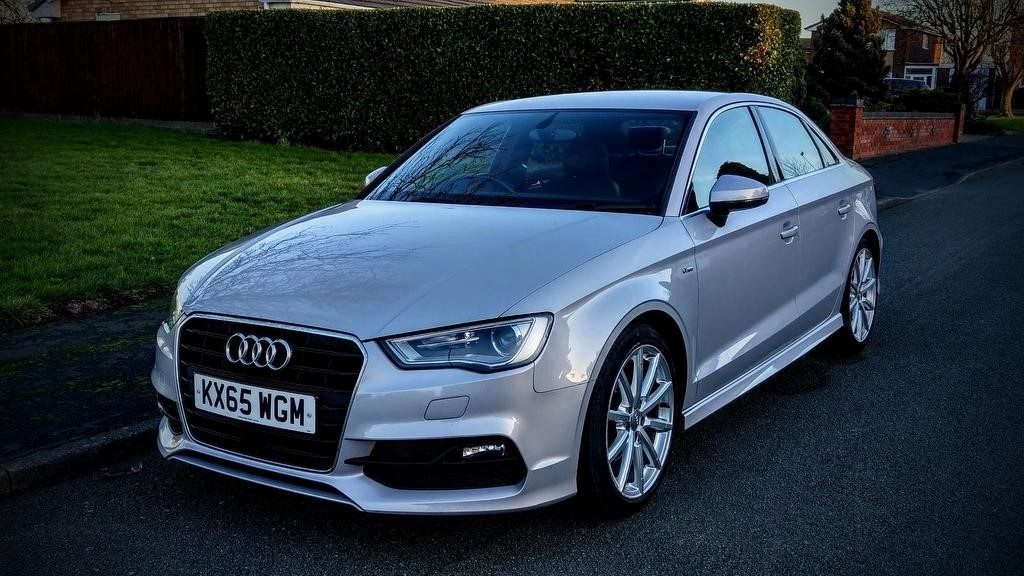 used Audi A3 TDI S line (s/s) 4dr