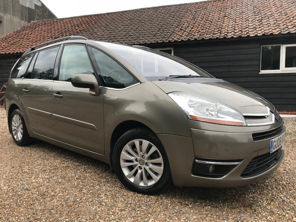 used Citroen C4 PICASSO 7 EGS EXCLUSIVE HDI in essex