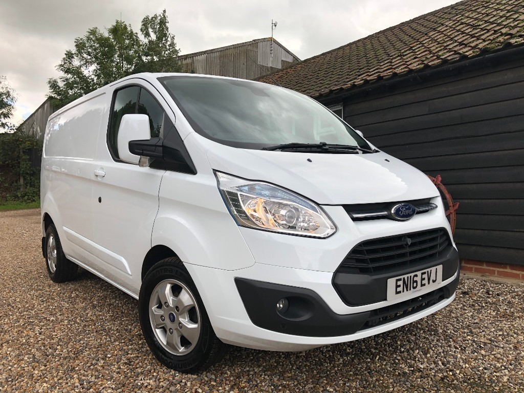 used Ford Transit Custom 290 LIMITED LR P/V in essex