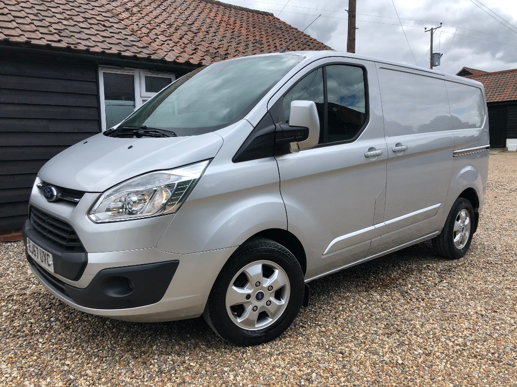 used Ford Transit Custom 270 LIMITED LR P/V in essex