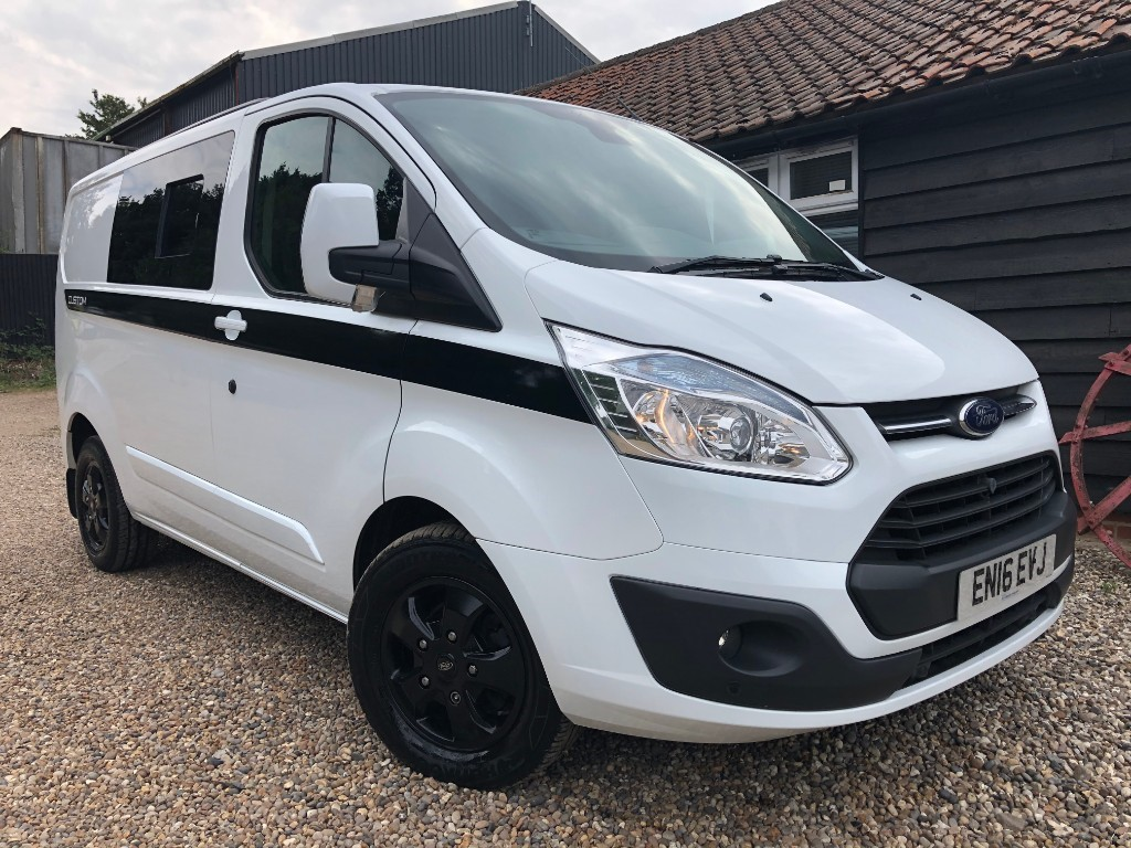 used Ford Transit Custom 290 LIMITED 2 BIRTH CAMPER!! in essex