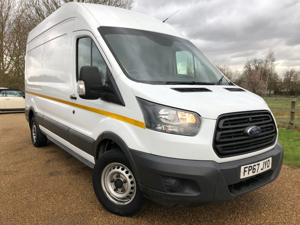 used Ford Transit 350 L3 H3 P/V DRW in essex