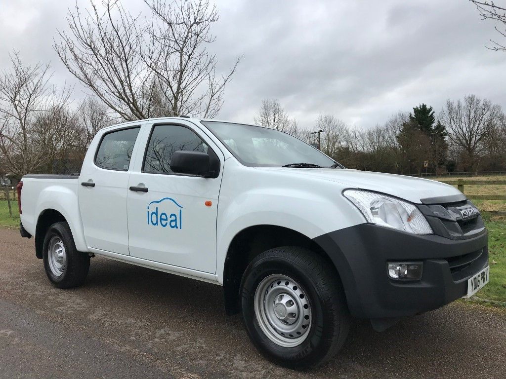 used Isuzu D-Max TD DCB in essex