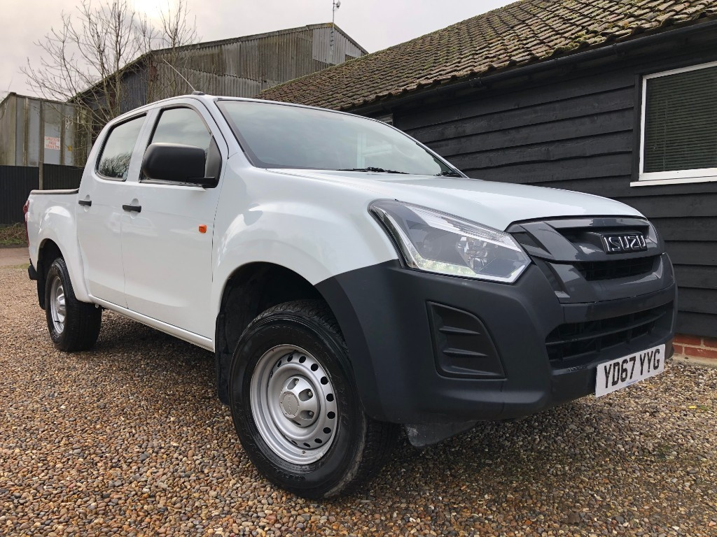 used Isuzu D-Max DCB in essex