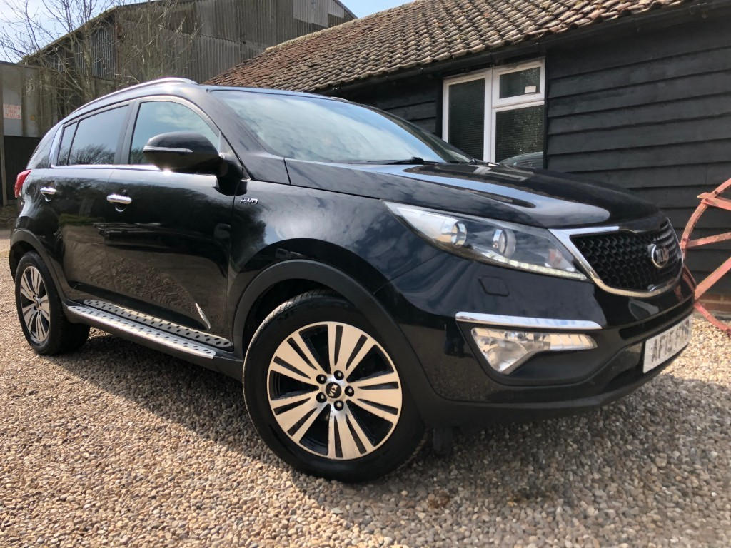 used Kia Sportage CRDI KX-3 SAT NAV in essex